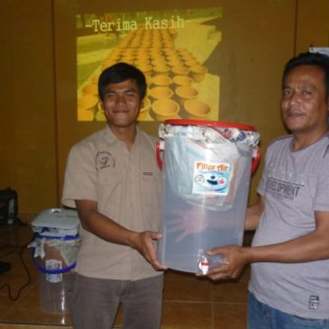 Ceramic Filter Giveaway and Health Consultation in Village Budiharga, District Cililin, West Bandung.