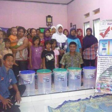 Distribution of Ceramics Filter in the Village Jalancagak, Subang, West Java