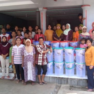 Distribution of Ceramic Filter in Village Karayunan, Majalengka, West Java