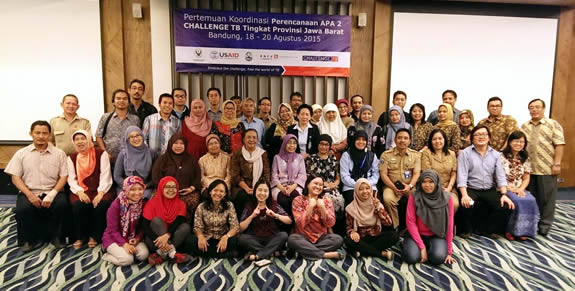 West Java Planning Meeting for Challenge TB – August 2015