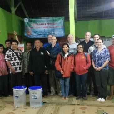 Ceramic Filter Distribution in Kotekan, Purwodadi, Jogyakarta, Indonesia