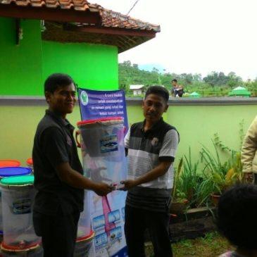 Distribution of 50 Ceramic Water Filters in RT. 002 – Kel. Margamulya