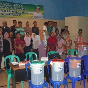 Socialization and Introduction of Ceramic Filter at Village Tambak Mekar, District Jalan Cagak, Subang, West Java