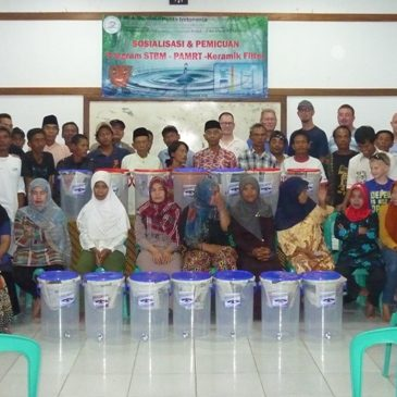 Ceramic Filter Give Away and Health Counseling by Pelita Indonesia at Ujung Genteng